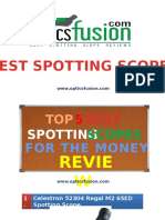 Best Spotting Scope for the Money – Guides & Reviews No Animation