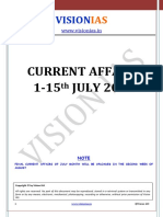Current Affairs 1-15 July 2016