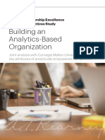 Building an Analytics-Based Organization