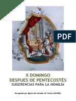 X Domingo Después de Pentecostés -Homilía