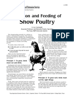 [a. Lee Cartwright] Nutrition and Feeding of Show