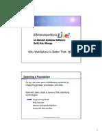 Web Sphere vs Net