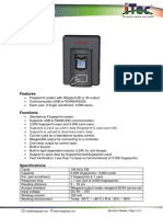 I-Tec Biometric Reader