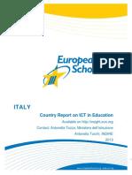 School Report 2013 Italy