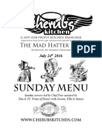 24072016 Sunday Menu - Hatter