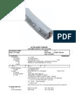Podatci_65802 Sl005 Alpha Wire