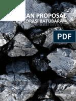 2.1 Laporan Proposal Eksplorasi Batubara Di