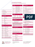Regular Expressions Cheat Sheet by DaveChild - Cheatography