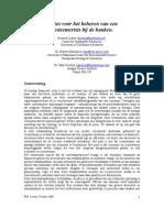 Opties voor het beheren van een systeemcrisis bij de banken (Bernard Lietaer, Dr. Robert Ulanowicz, Dr. Sally Goerner)