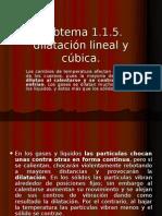 Ejemplos de Dilatacion Lineal y Cubica