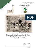 Monografia Pozo Grande (UAEH(GRL))