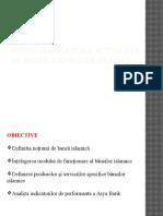 Particularităţi Ale Activităţii de Retail a Băncilor Islamice