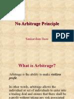 No Arbitrage Principle