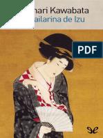 Kawabata, Yasunari - La Bailarina de Izu [7797] (r1.0 Jugaor)