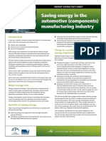 15 Automotive Manufacturing Energy Saving Factsheet