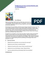 Konsep Perkembangan Dalam Konstelasi Psikologi Dan