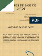 Exposicion Motores de Bases de Datos