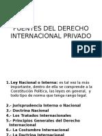 Foros de Codificacion.pptx - Derecho Intyernacional Privado