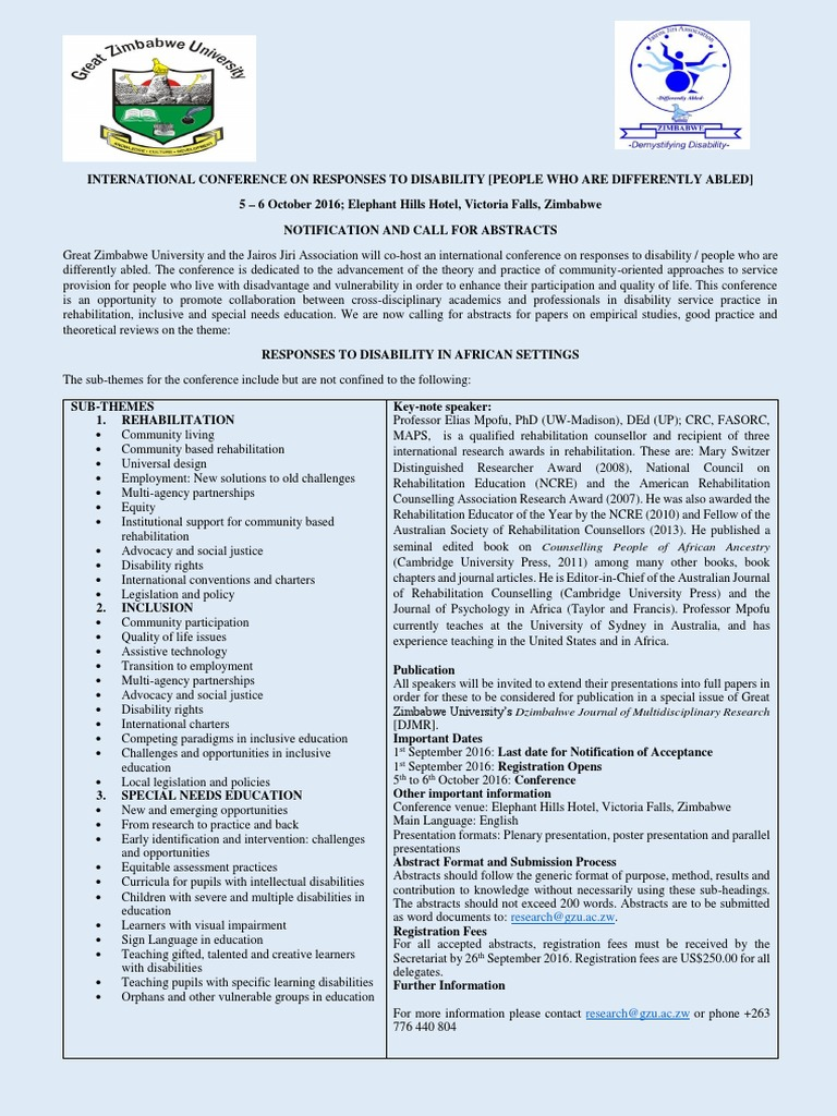jja - gzu international conference on responses to
