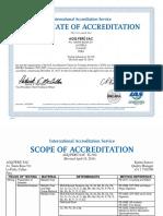 Acreditacion AGQ 2014