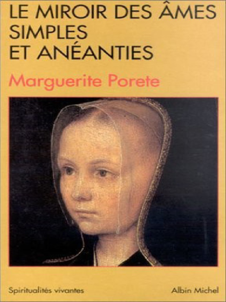 Marguerite Porete et Marguerite dOingt de lautre c/ôt/é du miroir