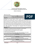 Palustre-1st Tytana GenEd Quiz Bee Showdown Proposal Plan