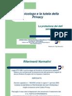 Lo Psicologo e La Tutela Della Privacy_Marazzini_13!02!2007