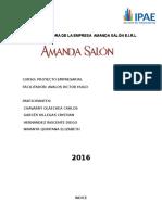 Plan de Mejora de La Empresa Amanda Salón