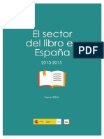 El Sector Del Libro en España - Enero 2016