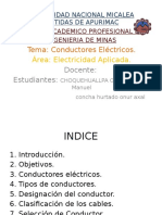 Electricidad Aplicada conductores electricos