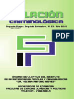 Revista Relación Criminológica 23