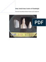 Three chalcedony tools from Castro of Zambujal