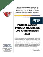 Plan de Acción (Pama) 2016 Ie 1199 Mrc