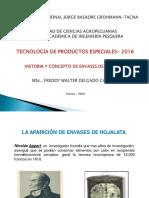 1. Historia de Envases de Hojalata y Enrrollado de Caballa