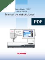 Janome Mc11000se Manual de Uso