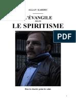 Kardec Allan 03 L'Evangile Selon Le Spiritisme 1863 Mjys