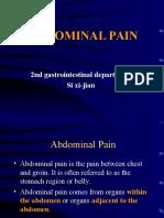 Abdominal Pain31