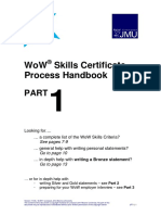 WoW Skills Certificate Process Handbook PART1