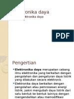 Elektronika Daya