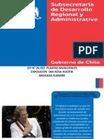 Expo Rosa Huerta Jornadas Municipales Subdere 22.07.2016