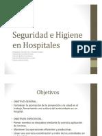 Seguridad e Higiene en Hospitales GRUPO 8