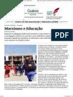 Marxismo e Educação Saviani