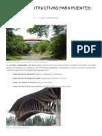 Claves Constructivas Para Puentes de Bambú