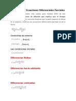 Método Para Ecuaciones Diferenciales Parciales