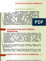 Accidentes de Alto Riesgo Ambiental (1)