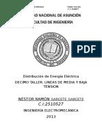 Tp Distribucion Lineas de Mt y Bt
