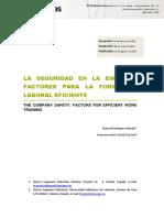 La Seguridad en La Empresa 2014