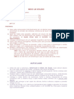 Protocolo Meio Lb Sólido Autoclave