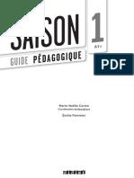 Guide Pedagogique Saison 1