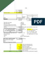 Evaluación de Inversiones Con Riesgo - Solución
